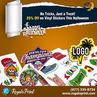 No Tricks, Just a Treat! 25% off on Vinyl Stickers this Halloween by RegaloPrint.jpg