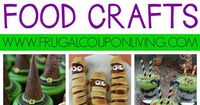 Halloween Food Crafts for Kids on Frugal Coupon Living. Classroom Snack Ideas, spooky food for kids, and October snack ideas.postto Pinterest.