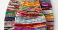 ...sibling Hudson Hats (by camelliamama)... They are just so cheerful!