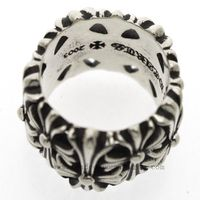 882d81a9abfe Chrome Hearts Ring Cemetery Cross Floral Cheap Online  http   www.tradeschromehearts.