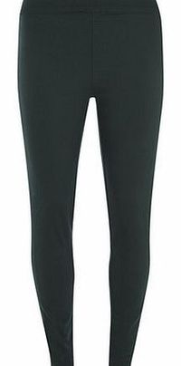 Dorothy Perkins Womens Bottle Green Lyla High Waist Tube These Lyla tube pants are a great alternative to jeggings, featuring a pull on style for easy wear. Inside leg measures 79cm. 62% Cotton, 36% Polyester, 2% Elastane. Machine washable. ht...