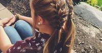 #8: Two Extra Long Braids Extra long or extra thick hair often looks best in very simple hairstyles. You should definitely look into this hairdo if you have lon