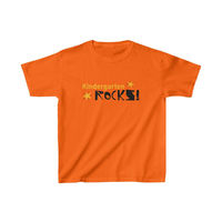 Kids Kindergarten Rocks T-Shirt, Back to school cool t-shirts, Cute t-shirts for kindergarten, Fun kids wear. $18.00