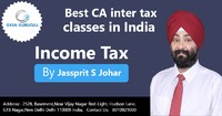Gyan Gurucull is very popular for Best CA inter tax classes in India because this coaching institute is providing video classes for CA Inter Taxation Students. Jassprit S Johar who is the most trusted faculty of India. He proper guiding to students for to...