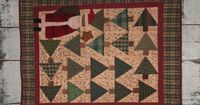 Winter Patterns Wednesday's Best Quilt Patterns by Cheri Saffiote-Payne - Christmas Tree Lane