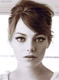 Emma Stone. GOOD LORD SHE IS PERFECT and I want to hate her for it but I can't.