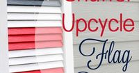 Shutter upcycle project- Flag decor for Memorial Day or 4th of July l Too Much Time on My Hands 4 copy