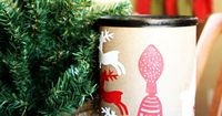 Drummer Boy Christmas Kids Craft made with Cricut Explore -- Sweet Rose Studio. #DesignSpaceStar Round 5