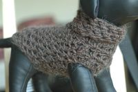 Ravelry: Crocheted Dog Sweater pattern by vahnee