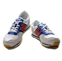 New Balance 420 Grey Blue Red Unisex Running Shoes 2014  Complete your footwear palette with the New Balance 420. Lightweight materials, bold colors and a solid rubber outsole give these retro classics an upbeat feel that will accent any outfit. Unisex...