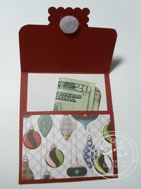 Snowmanlover's Paperie~Stampin' Up! Demonstrator: Stampin' Up! Letters to Santa~Gift Card Holder #5