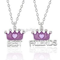Bff Best Friends Matching Necklaces Birthday Gift https://www.gullei.com/bff-best-friends-matching-necklaces-birthday-gift.html