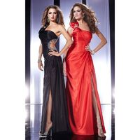 Black Panoply 14439 - High Slit Dress - Customize Your Prom Dress