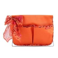 Jacki Design Summer Bliss Large Magazine/Accessory Organizer, Orange @The Lavender Lilac