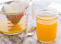 It is easy to make clarified butter at home, and those who are dairy sensitive can still enjoy this pure cooking fat because the whey and casein are removed through cooking. Sometimes you just need butter!