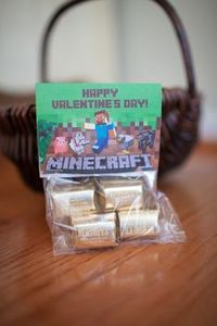minecraft valentine box - Google Search