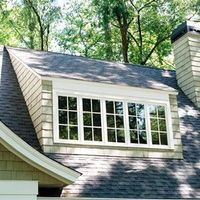 Give spaces beneath steep rooflines added headroom, light and charm with the addition of a shed dormer window.