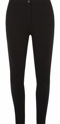 Dorothy Perkins Womens Black button front treggings- Black Skinny fit black trousers in a stretch ponte fabric with a button and zip front fastening. 100% Cotton. Machine washable. http://www.comparestoreprices.co.uk//dorothy-perkins-womens-black-butt...