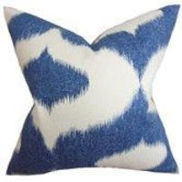 Found it at Wayfair - Leilani Ikat Linen Pillow