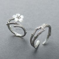 Matching Couple Wedding Rings Set for 2 https://www.gullei.com/matching-couple-rings-jewelry-gift-adjustable-size.html