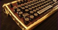 Artist Richard Nagy customizes keyboards with a Steampunk twist, and even sells DIY kits to make and mod your own!