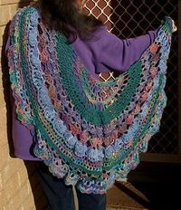 same shawl different colours and weight