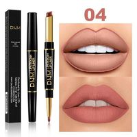 �Ÿ˜�12 Colors Long-lasting Lip Liner Matte Lipsticks Double Head Lip Pencil Waterproof Moisturizing Makeup Contour Cosmetics TSLM2�Ÿ˜� $5.13