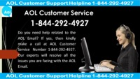 AOL Email Support Help Desk USA #1-844-292-4927