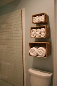 basket shelves - genius