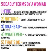 Nailed it! Men should really pay attention!! lol