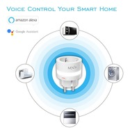 SP10 10A LED Night Light Smart WiFi Socket Switch Real-time Status Feedback Function Work for Amazon Alexa Google Assistant