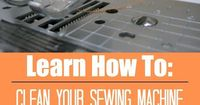 Tiny fibers and dust accumulate inside your machine. Learn how to keep everything running smooth and when to clean your sewing machine.