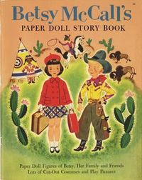 The whole story book paper doll Betsy McCall