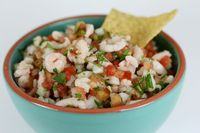 Ceviche! I had it for lunch and want to for every day foreverandeveramen!