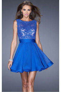 Perfect Short Sweetheart Zipper A-line Sleeveless Party Dresses