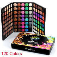 christmas 120 Colors Cosmetic Powder Eyeshadow Palette Makeup Set Matt Hot Selling $30.0
