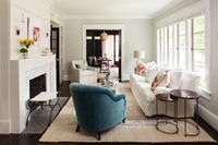 transitional living room by TerraCotta Properties