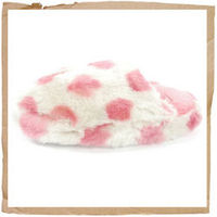 Animal Nyala Slippers Pink Animal Nyala Slippers Faux Fur Upper And Footbed Branded Tab On Front Grippy Rubber Outsole With Paw Imprint Pokka Dot Pattern Animal Code: FMP73 F14 http://www.comparestoreprices.co.uk/sports-shoes/animal-nyala-slippers-pink.as...