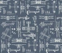 WW1 Slate/Cream fabric by savannahlindsay on Spoonflower - custom fabric :: I LOVE this.. but phew! $$$