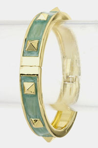 Stud Bangle at Brazenelle.com