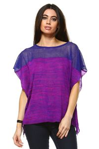 Women's Violet Patterned Top $29.00