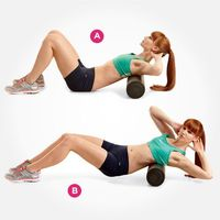 Work your shoulders and sides with this move--or check out 6 more awesome ways to use a foam roller here: http://www.womenshealthmag.com/fitness/foam-roller-exercises?cm mmc=Pinterest- -womenshealth- -content-fitness- -foamrollermoves