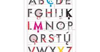 �€˜The Alphabet of Typography' Poster