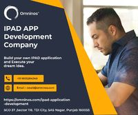 Omninos solutions provide the Best IPAD APP Development Company. Developing iPad apps with enhanced data security and user engagement can add enormous value to your business. We design and develop customized applications for iPad users focusing on all the...