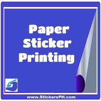 Paper Sticker Printing Philippines