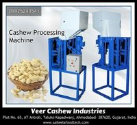 We offer a range of automatic cashew processing machine, which are developed in view of keeping characterized industry standards. http://www.saileelafoodtech.com/our-products/automatic-cashew-processing-machine