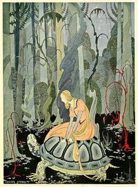 It's unfortunate for the world that Chicago-born illustrator Virginia Frances Sterrett only completed three books before she died at 31 following a long battle