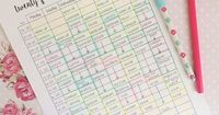 24-7 weekly planner � I love starting one of these on a Sunday and planning out the week ahead! I use different colours to differentiate my tasks. Download this for free at: http://theorganisedstudent.tumblr.com/printables #theorganisedstudent...