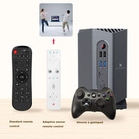 A95X Max Plus Amlogic S922X 4GB RAM 64GB ROM Android 9.0 5G WIFI BT 4.2 1000M LAN Android 9.0 TV Box with Sensor Gamepad bluetooth Gamepad