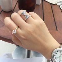 Sterling Silver Angel's Wing Wide Ring (4 Colors) $49.00